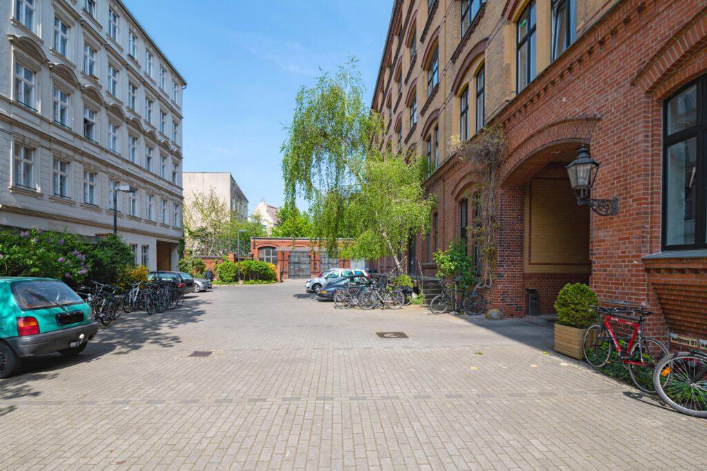 Hofansicht B Gewebehof Bülowbogen