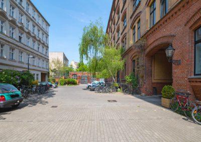 Hofansicht B Bildergalerie Gewerbehof Bülowbogen