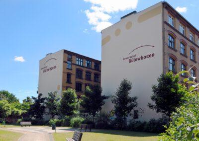 Nordgiebel Bildergalerie Gewerbehof Bülowbogen