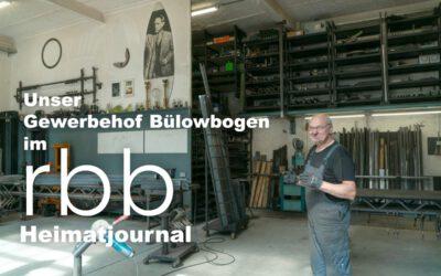 rbb Kurzfilm über den Gewerbehof Bülowbogen